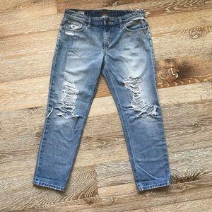Joes Jeans Boyfriend distressed jeans